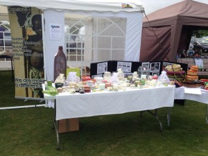 CApstone Candles Stall